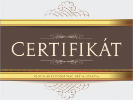 Certifikáty pre Top Firmy